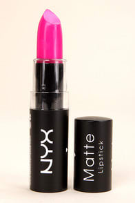 NYX Shocking Pink Matte Lipstick at Lulus.com!