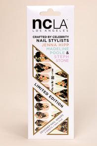 NCLA Aly En Vogue Floral Print Nail Wraps at Lulus.com!