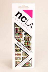 NCLA Massai Tribal Print Nail Wraps at Lulus.com!