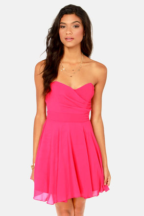 Hot Pink Dresses For Juniors – tart.tk